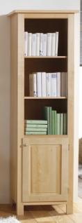Bücherregal Regal Hochschrank Wohnzimmer Standregal Birke massiv gewachst