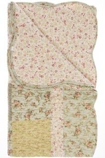Patchwork Decke Alessia II Baumwolle Mehrfarbig
