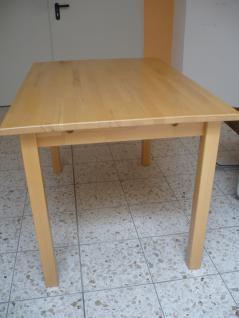 Tisch Esstisch Küchentisch Esszimmertisch Holztisch 120x80 cm Buche lackiert - Vorschau 4