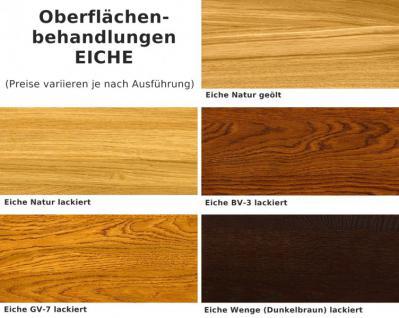 Vitrine Vitrinenschrank Schrankvitrine Birke massiv honig lackiert Landhaus - Vorschau 4