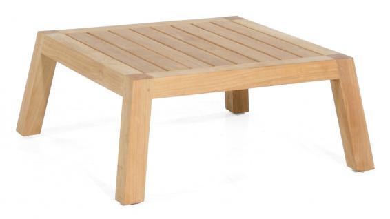 Clifton Lounge-Tisch 80x80 Teak Natur