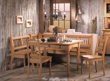 Tischgruppe Eckbankgruppe Fichte massiv antik shabby Landhaus vintage