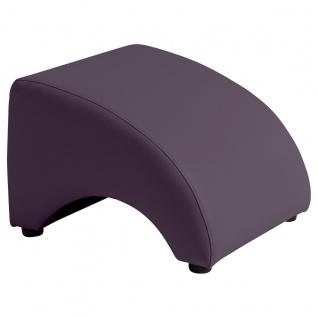 Brandford Hocker Polyurethan Violett Kunststoff