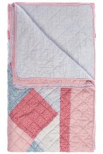 Patchwork Decke Elisa II Baumwolle Mehrfarbig