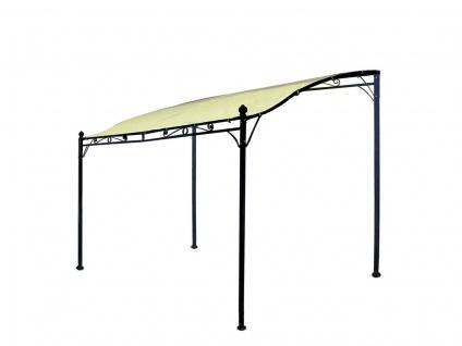 Anbaupavillon Pavillon Polyester und Stahl