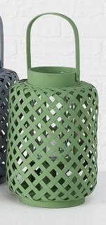 Windlicht Colene Bambus Grün