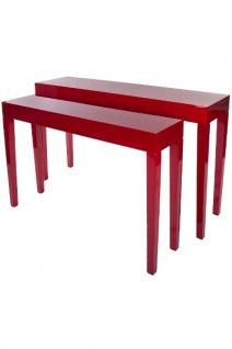 Tischset Jannis, MDF Rot
