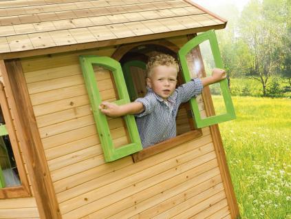 Spielhaus Holzhaus Kinder Haus Playhouse Holzspielhaus FSC Holz Zeder TÜV - Vorschau 3