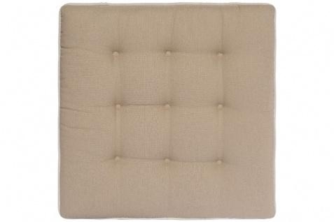 Sitzkissen Classic Baumwolle Weiß