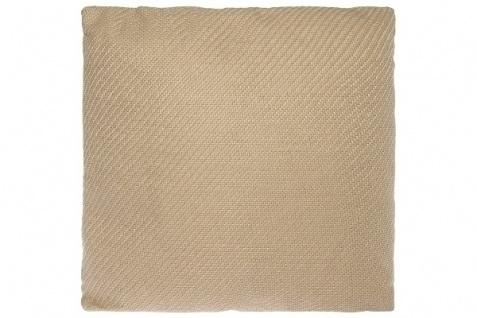 Kissen Standard Polyester Creme