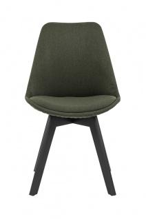 Stuhl 2er Set Polyester Grün