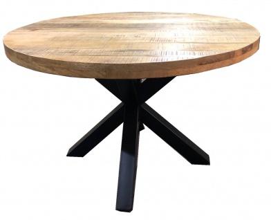 TISCHE & BÄNKE Tisch 120x120 Mango Natur