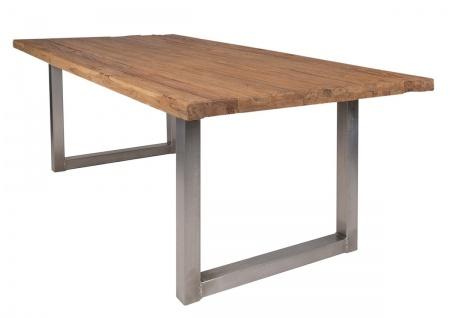 TISCHE & BÄNKE Tisch 180x100 Recyceltes Teak Natur