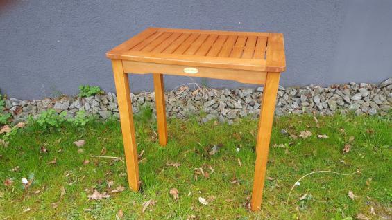 Gartentisch Eukalyptus Fsc Tisch Beistelltisch Balkontisch Geolt