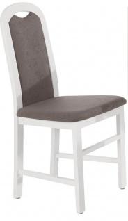 Stuhl Paris aus Buche massiv weiß lackiert