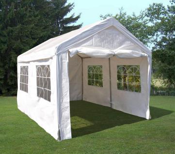 Partyzelt Gartenpavillon Bierzelt Festzelt Garten Überdachung Sonnenschutz 3x4m