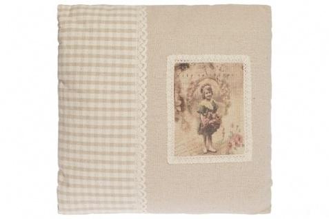 Kissen Romance Quadratisch Baumwolle&Polyester Beige