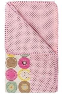 Patchwork Decke Ania I Baumwolle Mehrfarbig