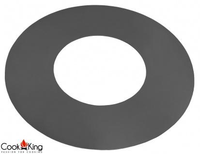 Grillplatte für Feuerschale aus Rohstahl 102 cm Durchmesser