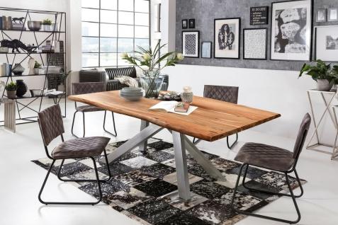 TISCHE & BÄNKE Tisch 240x100 cm Akazie Natur