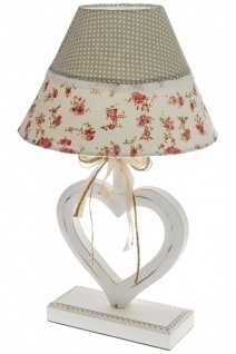 Romantik Lampe Ronja Holz Bunt