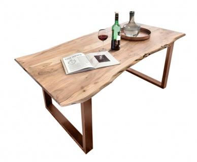 TISCHE & BÄNKE Tisch 180x90 Akazie Natur