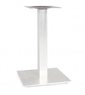 Rhodos Tischgestell Aluminium Gebürstet