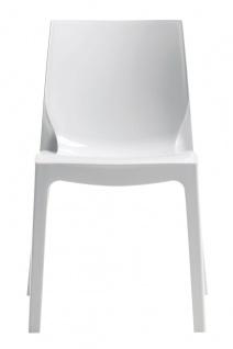 Esszimmerstuhl Kunststoff Weiß