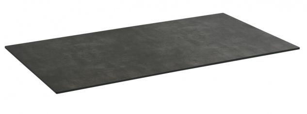 Compact Tischplatte 160x90 HPL Beton-Dunkel