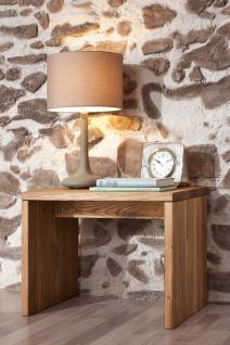 Nako Nachtkommode Nachttisch Bettkommode Betttisch Wildeiche massiv geölt