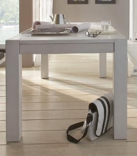 Esstisch eiche weiß  Esstisch Eiche Weiß Massiv online kaufen bei Yatego