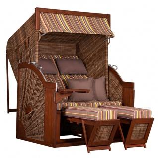 Strandkorb Comfort Pinie 135x80 cm
