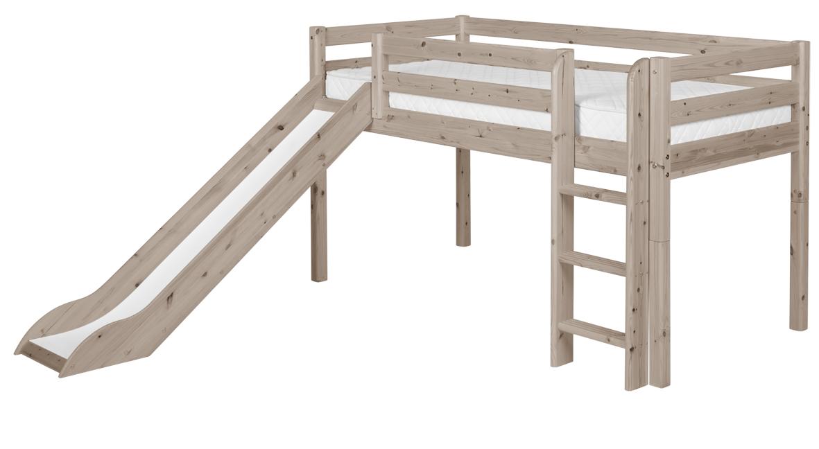 Flexa classic halbhohes bett hochbett kinderbett rutsche - Kinderbett rutsche ...