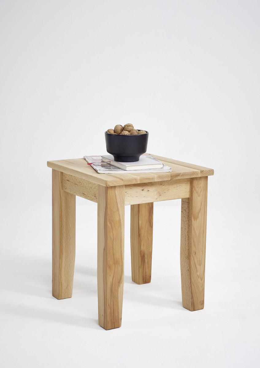 beistelltisch hocker blumenst nder kernbuche massiv ge lt sitz durchgehend kaufen bei saku. Black Bedroom Furniture Sets. Home Design Ideas