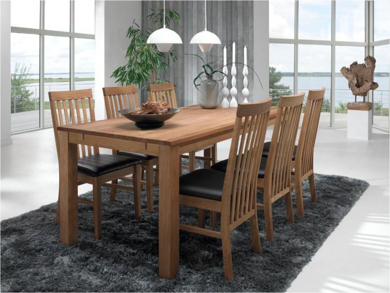 Tischgruppe Essgruppe Tisch Und Sechs Stuhle Esszimmer Eiche Geolt