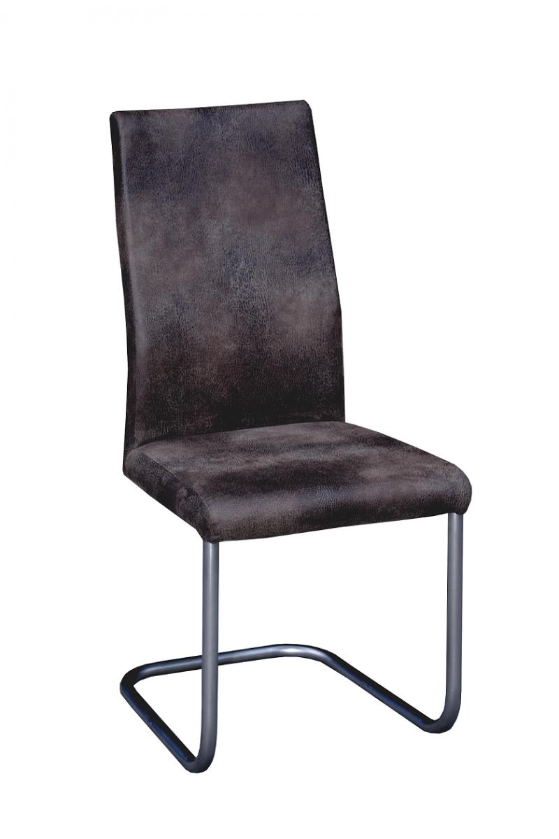 Swingstuhl 2 Er Set Edelstahl Gebürstet Microfaser Stuhl Sessel
