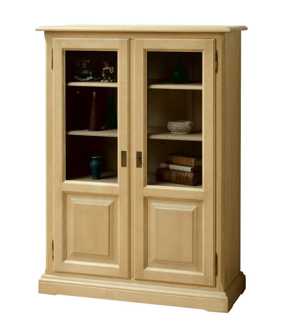 highboard beistellschrank vitrine wohnzimmerschrank fichte. Black Bedroom Furniture Sets. Home Design Ideas
