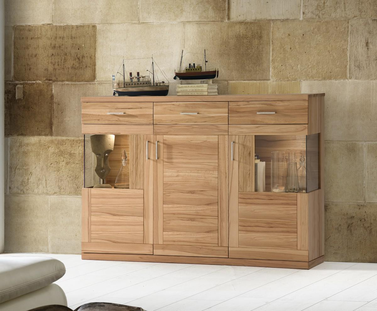 highboard sideboard schrank vitrine wohnzimmer esszimmer. Black Bedroom Furniture Sets. Home Design Ideas
