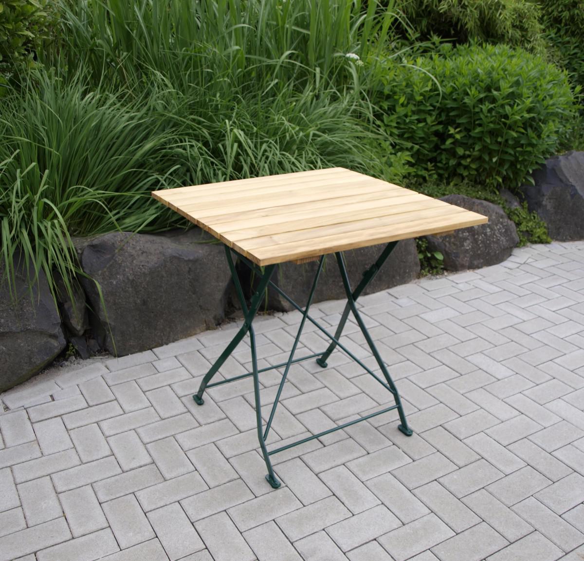 Gartentisch Klapptisch Tisch Quadratisch Gartenmobel Biergarten