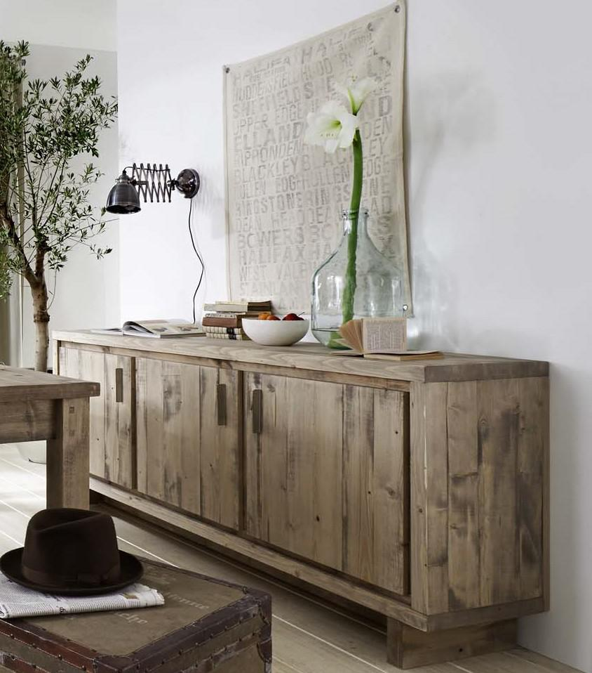 sideboard anrichte kommode kiefer fichte massiv rustikal. Black Bedroom Furniture Sets. Home Design Ideas