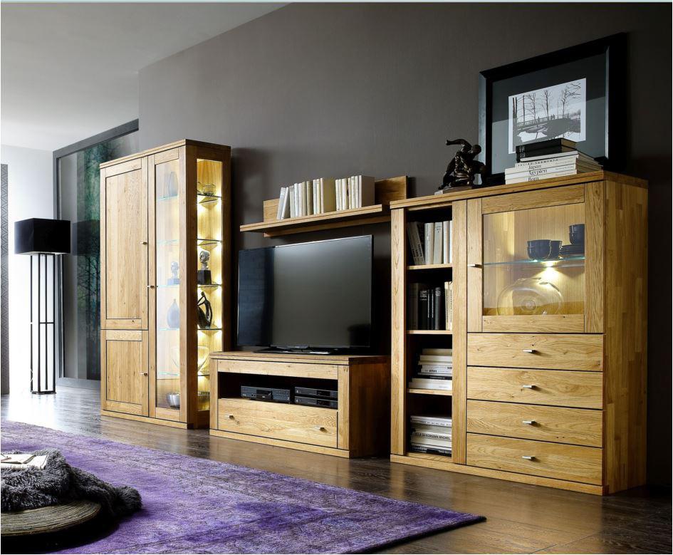 Anbauwand Wohnwand Wohnwand-Kombination Wohnzimmerwand