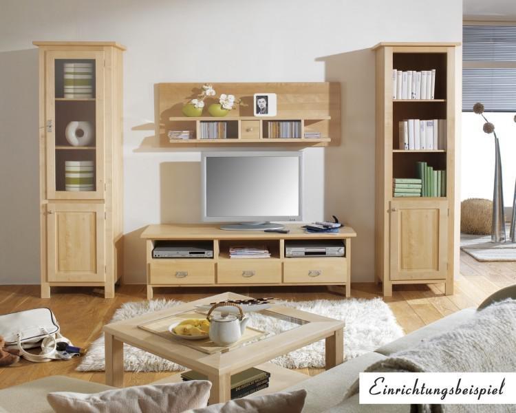 b cherregal regal hochschrank wohnzimmer standregal birke massiv gewachst kaufen bei saku. Black Bedroom Furniture Sets. Home Design Ideas