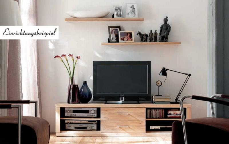 tv board lowboard tv anrichte tv m bel tv konsole wildeiche massiv ge lt kaufen bei saku. Black Bedroom Furniture Sets. Home Design Ideas