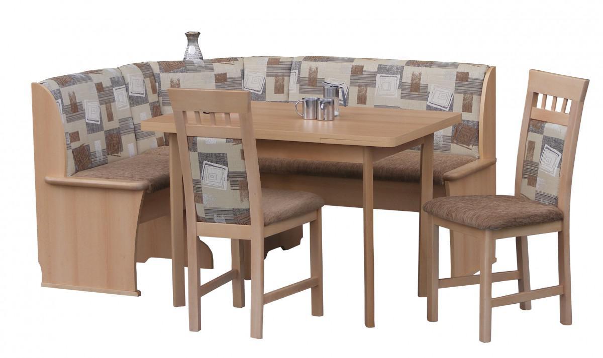 Eckbankgruppe Eckbank Esszimmer Essgruppe Stuhle Tisch Auszug Buche