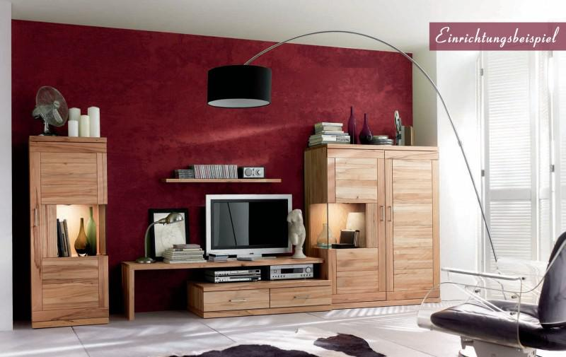 lowboard tv board tv lowboard tv m bel wohnzimmer kernbuche massiv ge lt kaufen bei saku. Black Bedroom Furniture Sets. Home Design Ideas