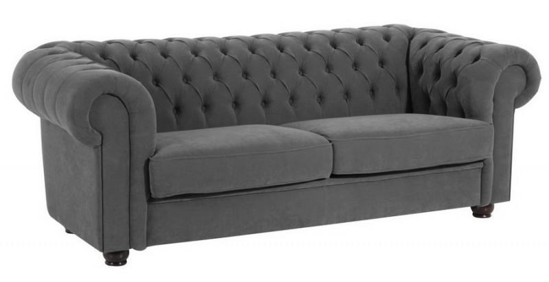 Sofa Couch 2 5 Sitzer Stoff Weich Textilsofa Wohnzimmer Barock