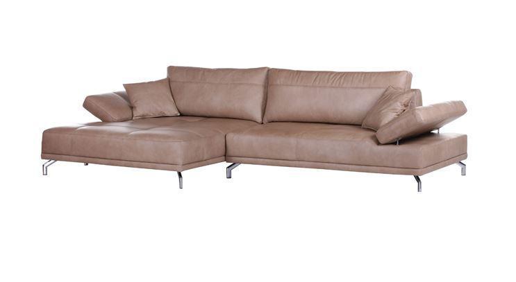 Ledergarnitur Polsterecke Wohnlandschaft Garnitur Couch Mit Funktion