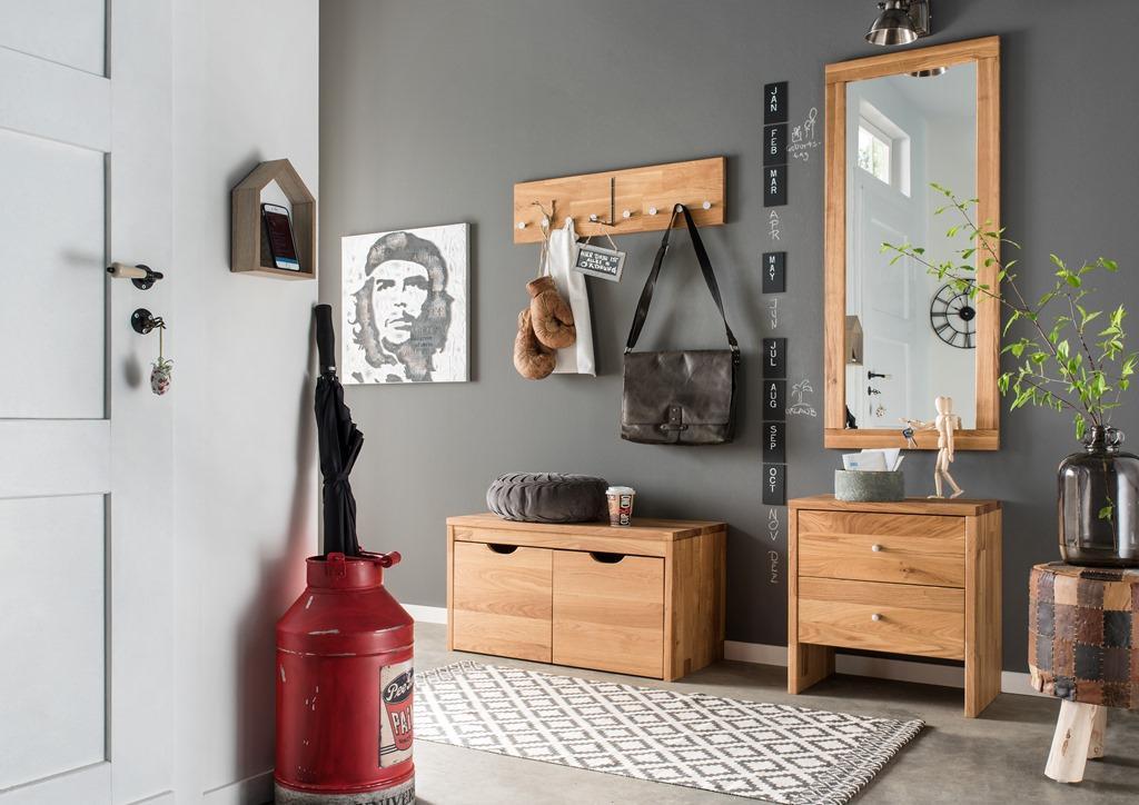garderobenbank sitzbank bank schuhbank schubladen wildeiche massiv flurbank kaufen bei saku. Black Bedroom Furniture Sets. Home Design Ideas