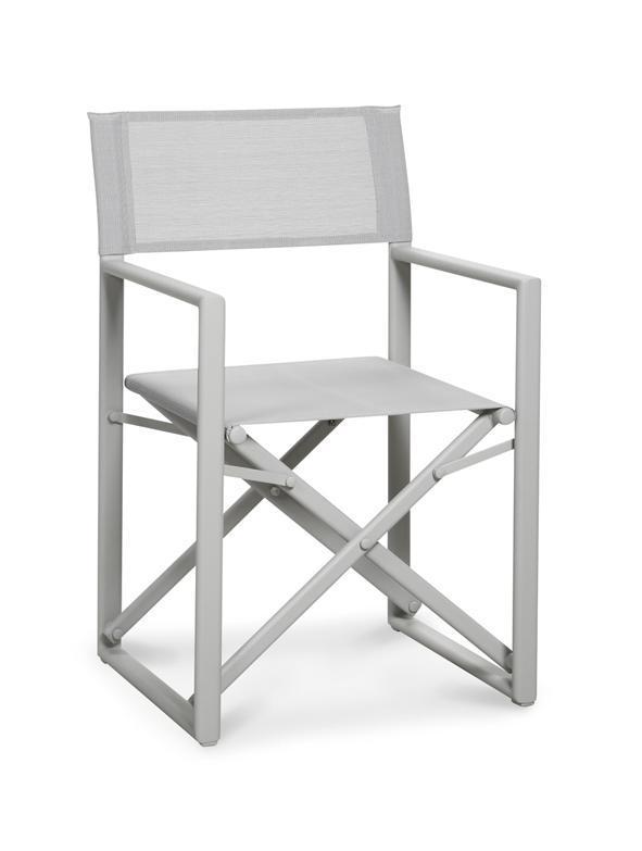 Regiestuhl Klappstuhl Klappstuhl Klappstuhl Gartenstuhl Gartenmöbel Stuhl Aluminium versch. Farben 105cf7