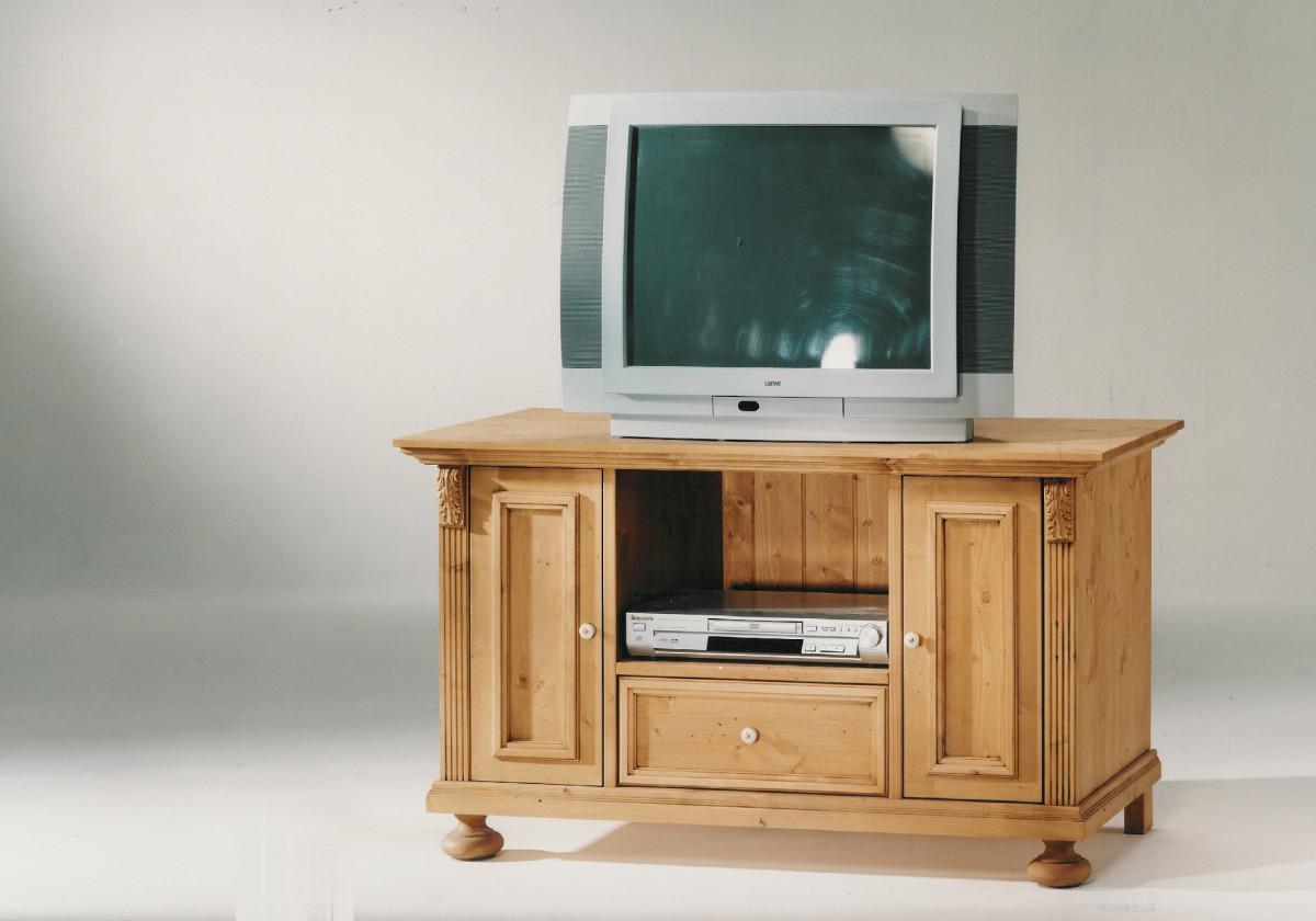 tv board tv kommode anrichte fichte massiv antik shabby. Black Bedroom Furniture Sets. Home Design Ideas